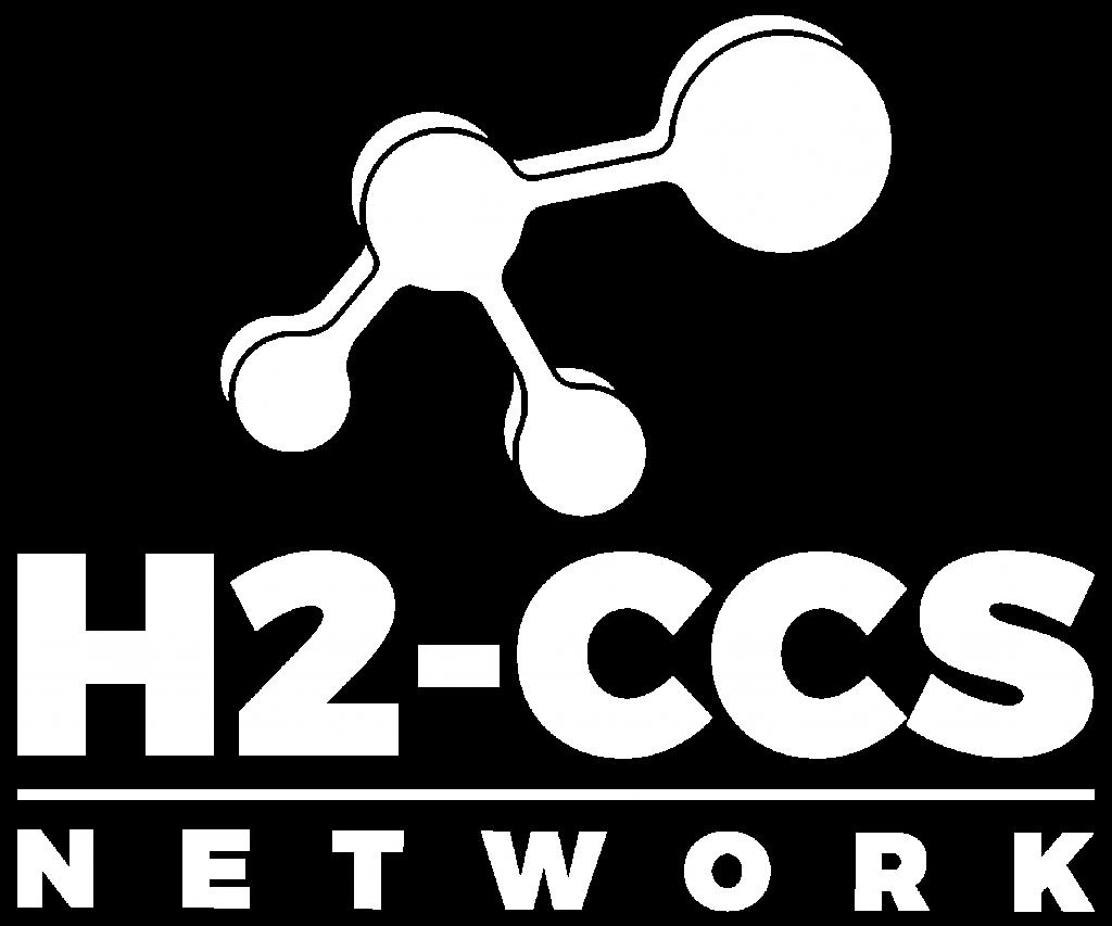 Hydrogen & Carbon Capture Network Logo White